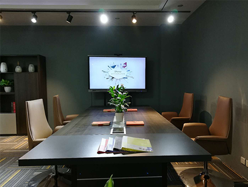 Guanchen office furniture ** experience hall